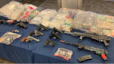 Guns, Drugs & Cash Seized