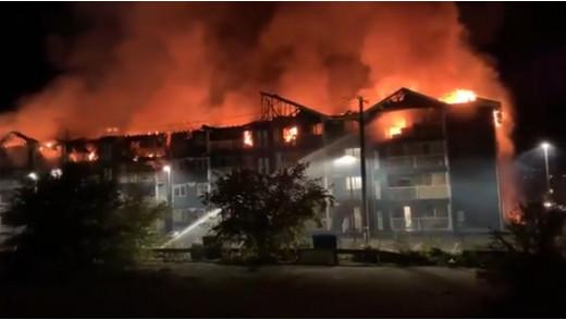 Manitoba Condo Complex Burns