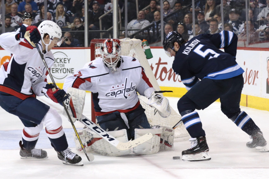 Myers scores in overtime as Jets rally past Capitals