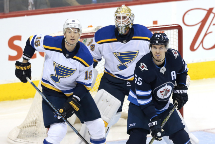 St. Louis Too Much For Winnipeg to Handle