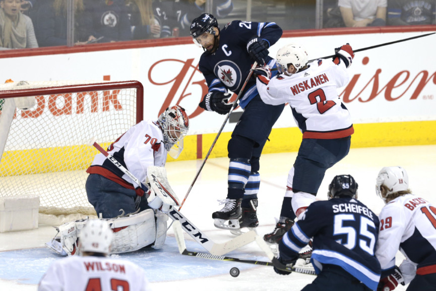 Tyler Myers scores overtime victor as Jets rally past Capitals