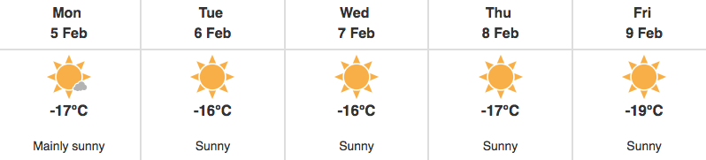 No Break in the Cold for Manitoba Just Yet