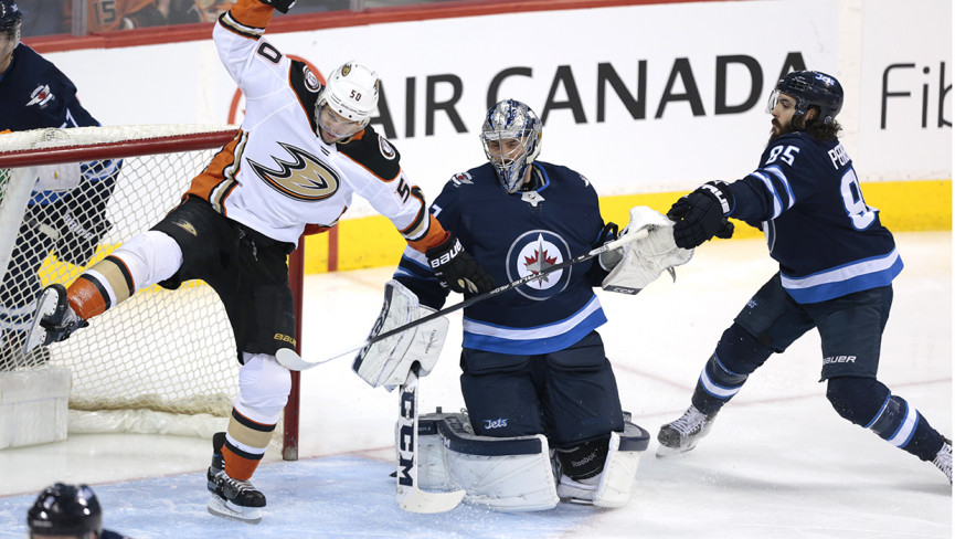 Jets Send Ducks Flying South With Overtime Victory