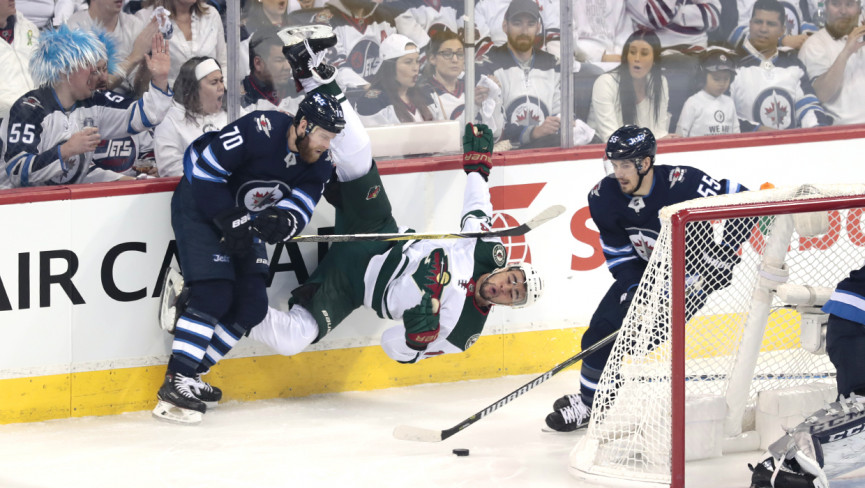 Jets Pound Wild in Whiteout Condition, Take 2-0 Series Lead