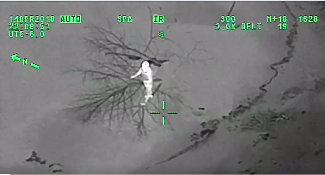 Air 1 Used to Rescue a Woman From Red River