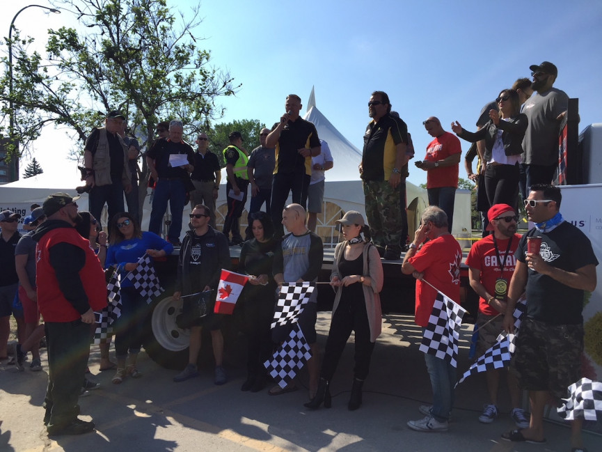 The Motorcycle Ride For Dad Raised $350,000
