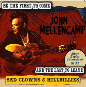 John Mellencamp to Play Winnipeg & Brandon