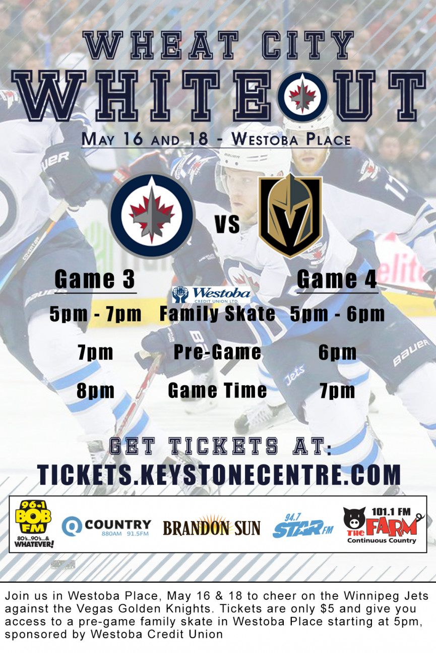 Brandon Announces Wheat City Whiteout Viewing Party