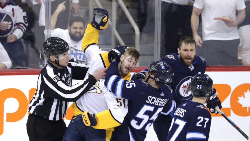 Oh What a Night, Winnipeg Fights Back to Win