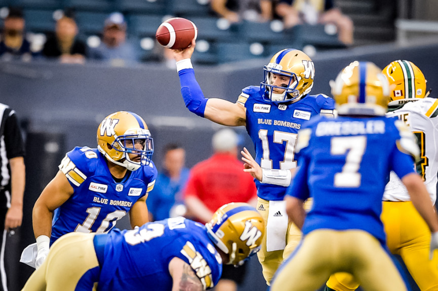 Eskimos Beat Bombers in Second-Longest Game in CFL History