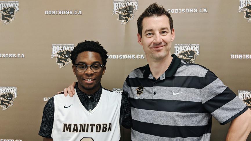 Bison Men's Basketball Recruit Mark Tachie