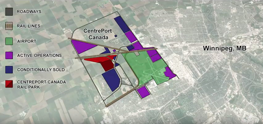 CentrePort Rail Park is Closer to Reality