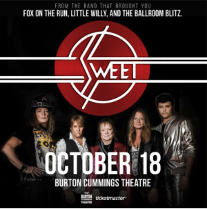 It's Going to be a Ballroom Blitz When Sweet Plays Winnipeg