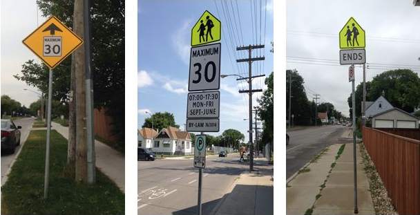 Winnipeg School Zones Being Enforced