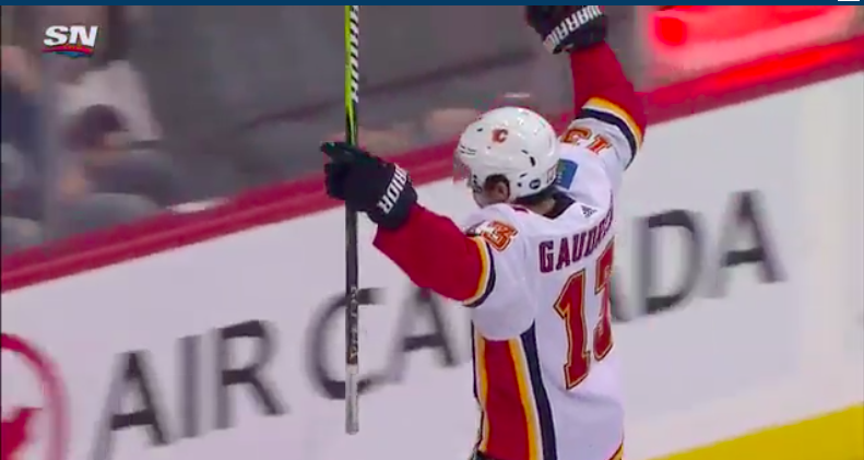 Winnipeg Jets Could Not Stop Johnny Johnny Gaudreau