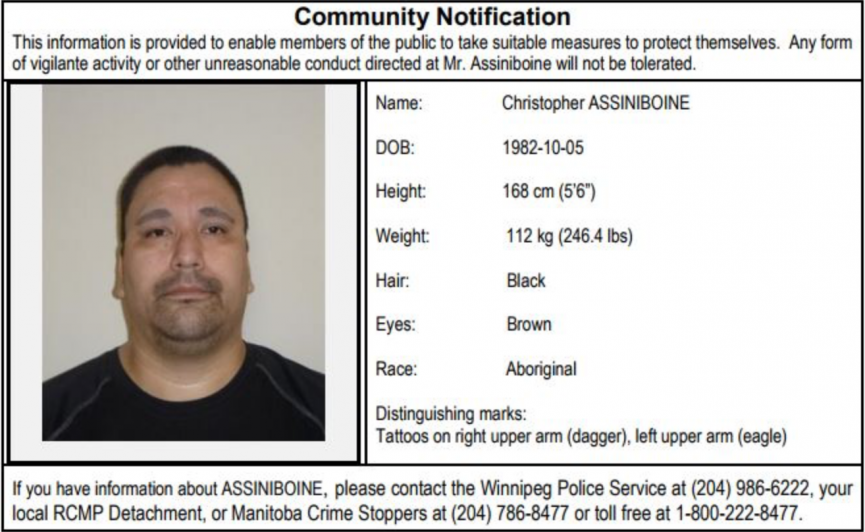 High-Risk Sex-Offender to Live in Winnipeg