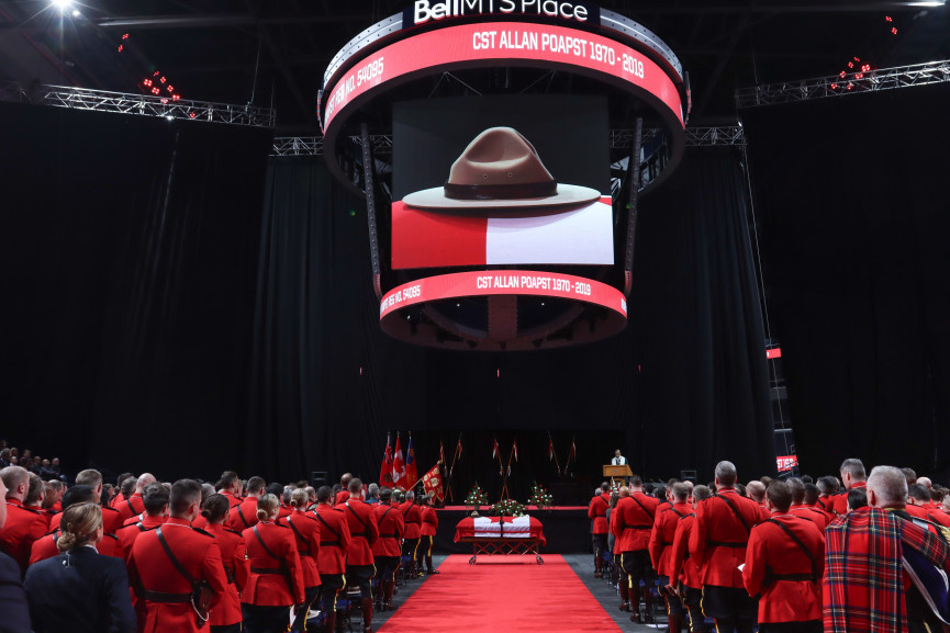 Saying Goodbye to RCMP Cst. Allan Poapst