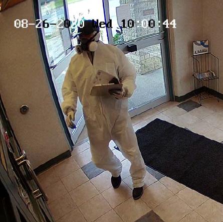 HazMat Bank Robber
