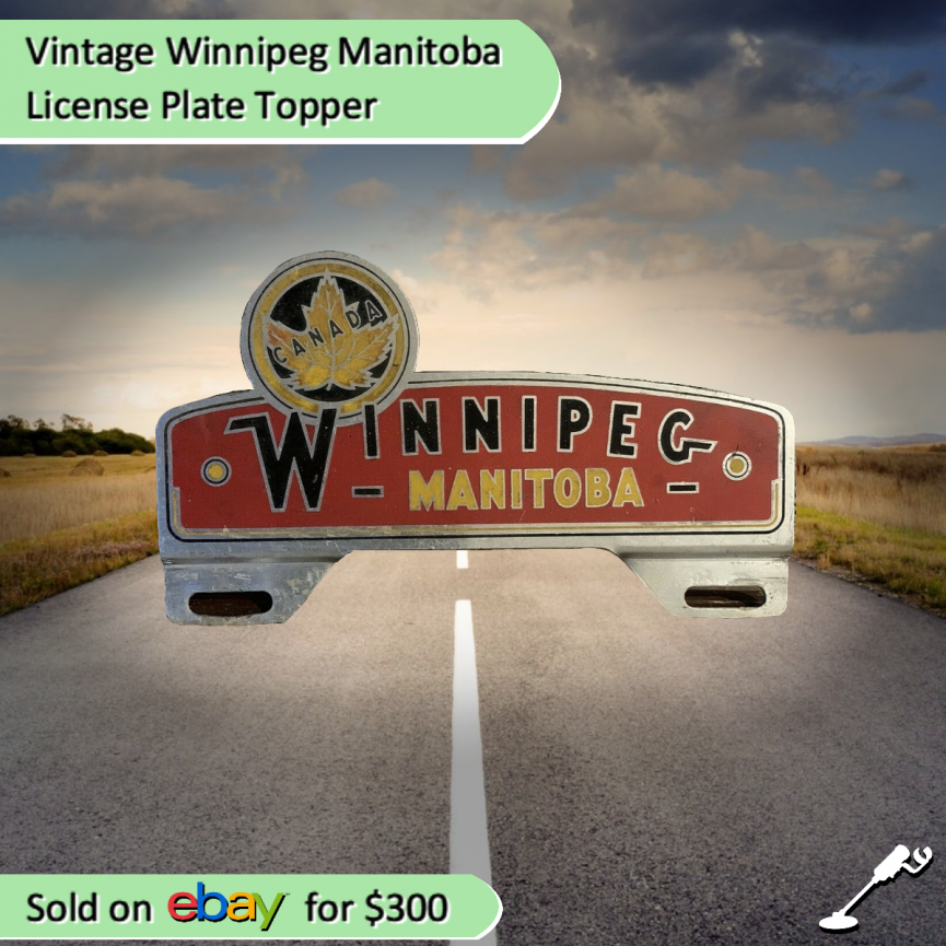 Winnipeg License Plate Topper