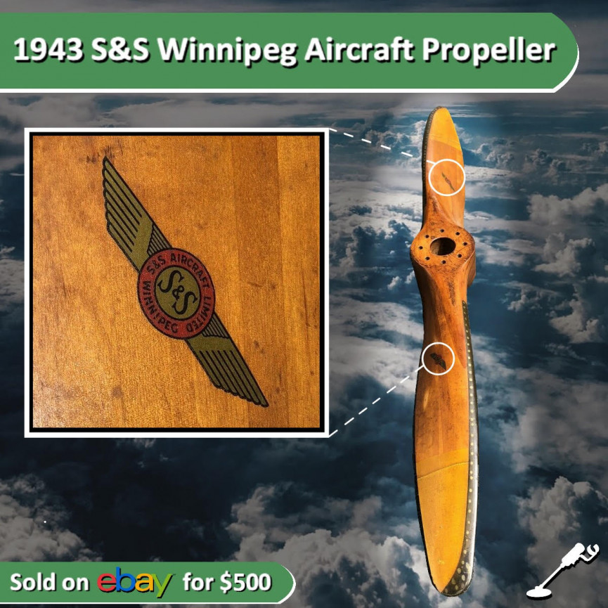 Winnipeg Airplane Propeller