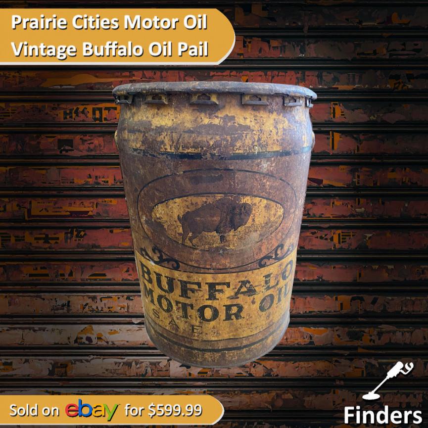 Winnipeg Oil Pail