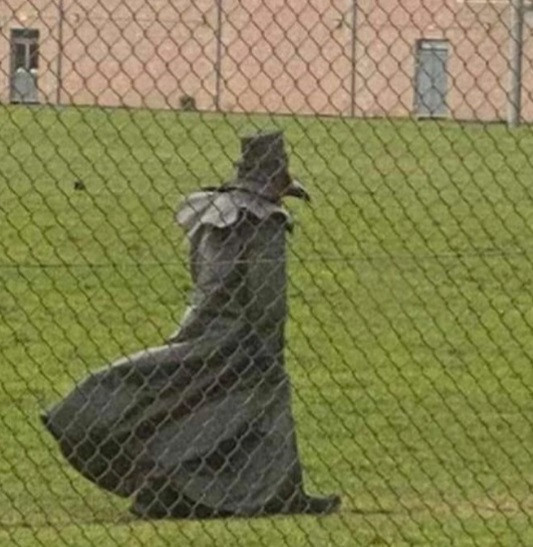 Creepy Plague Doctor Spotted