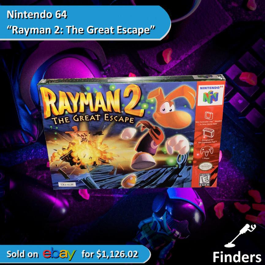 Rayman Video Game