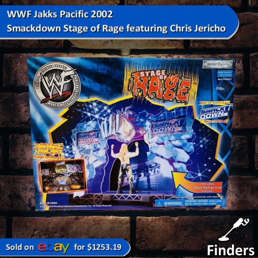 Chris Jericho Playset