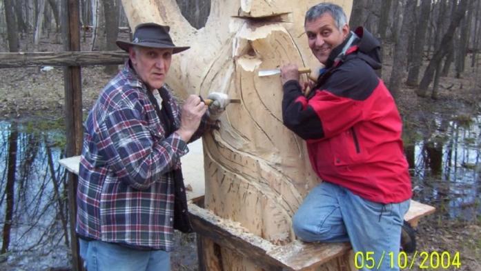 Beloved Winnipeg Tree Sculpture In Pieces