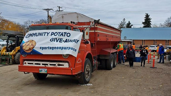 Manitoba Farmers Donate 50,000 Lbs. of Potatoes